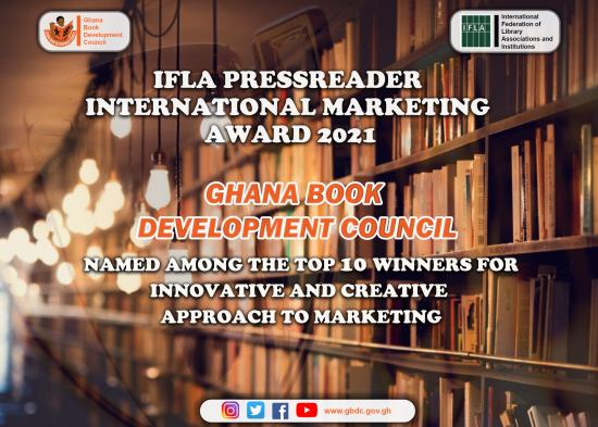 GBDC Emerges Among Top 10 Entries for IFLA PressReader Marketing Award, 2021
